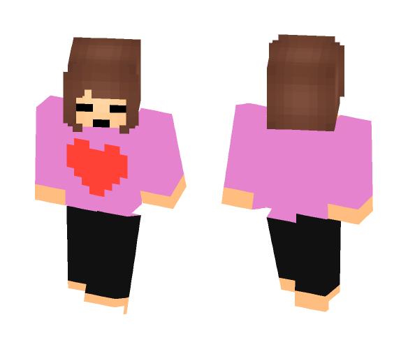 Frisk in her PJ's :3 - Other Minecraft Skins - image 1