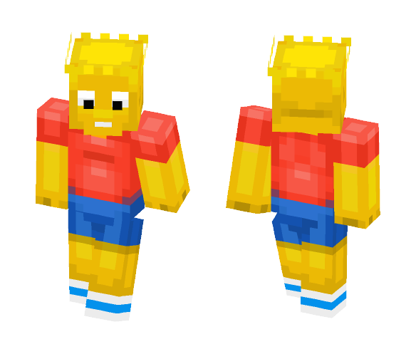 Bart Simpson - Male Minecraft Skins - image 1