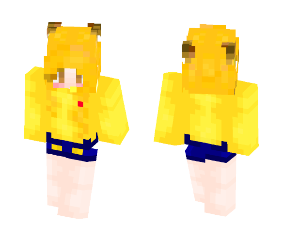 Pikachu Girl - Request - Female Minecraft Skins - image 1