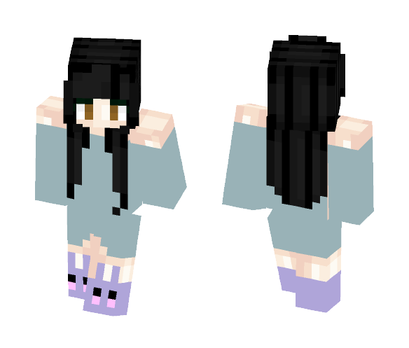 Good Morning - Female Minecraft Skins - image 1