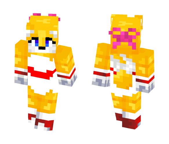 Girl Tails - Girl Minecraft Skins - image 1