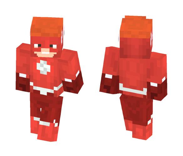 Kid Flash | Dc Rebirth - Comics Minecraft Skins - image 1