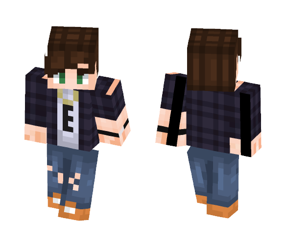If I were in a band - ECHO - Male Minecraft Skins - image 1