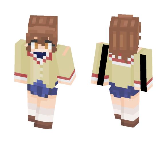 ~Nagisa Furukawa~ Clannad - Female Minecraft Skins - image 1