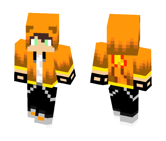 charmander teen - Male Minecraft Skins - image 1