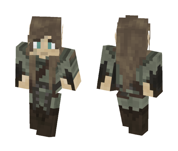 Male Elven Wanderer - Male Minecraft Skins - image 1