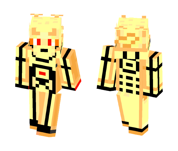 Naruto Six Paths - Male Minecraft Skins - image 1