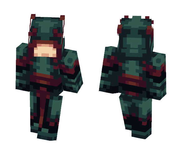 Download Deathwatch Guard (Wheel of Time) Minecraft Skin for