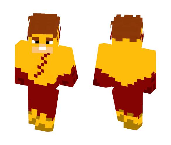 Download Kid Flash (Teen Titans Go) Minecraft Skin for Free