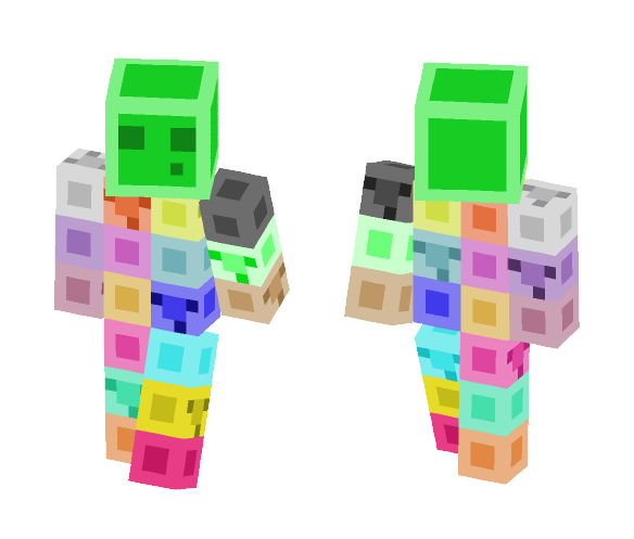 Download Slimes are a person too Minecraft Skin for Free