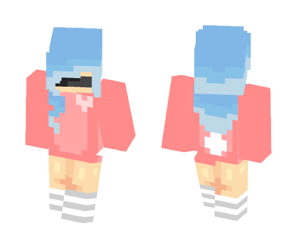 First ever good skin ~ Dreams - Female Minecraft Skins - image 1