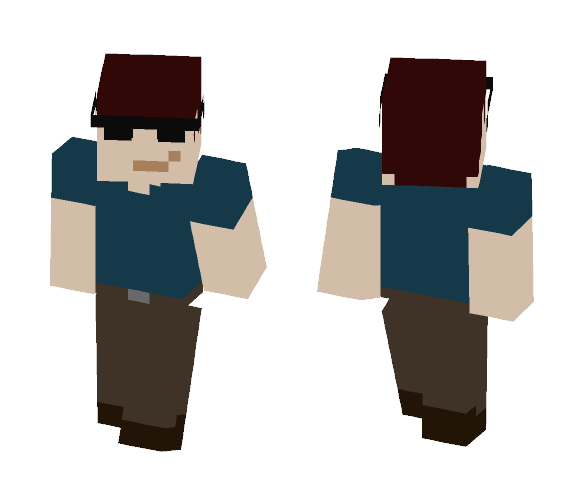 Fart Garfunkel - Male Minecraft Skins - image 1
