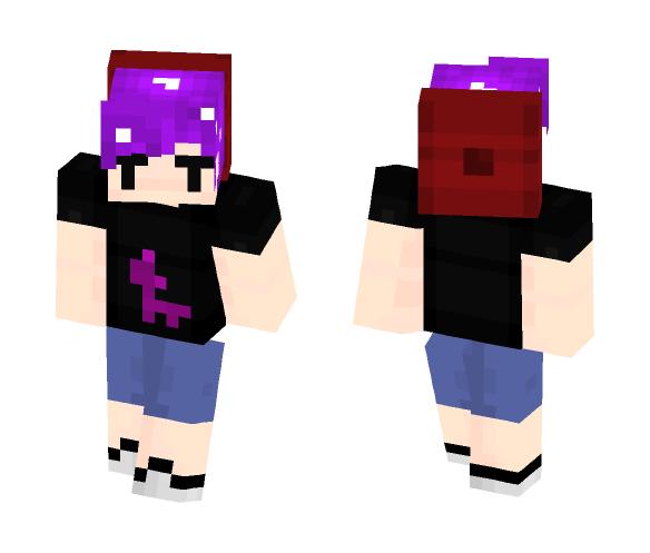 that random rich kid ~ J - Male Minecraft Skins - image 1