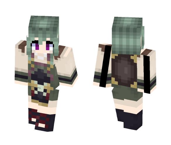 Midori- Fire Emblem Fates - Female Minecraft Skins - image 1