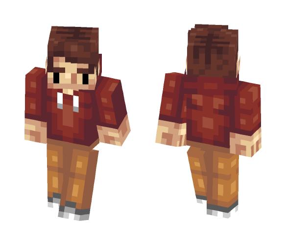 Hoodie - Male Minecraft Skins - image 1