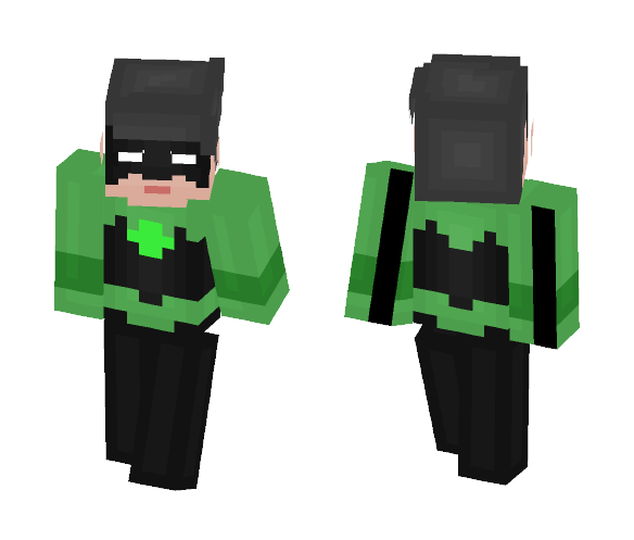 Kyle Rayner (Ion) - Male Minecraft Skins - image 1