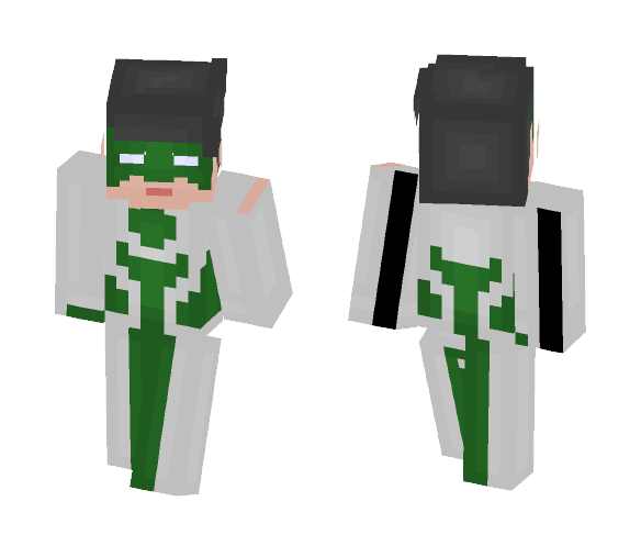 Kyle Rayner 2nd Suit - Male Minecraft Skins - image 1