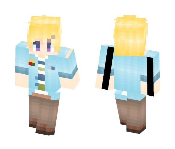 ! Mystic Messenger ! Yoosung - Male Minecraft Skins - image 1