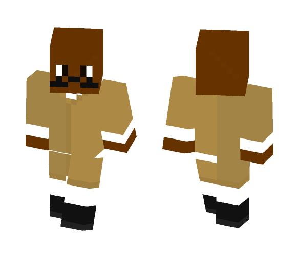 Mace Windu With a Mustache - Male Minecraft Skins - image 1
