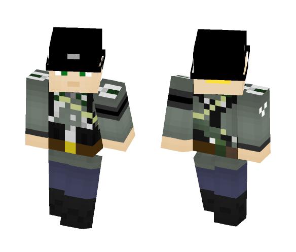 Waffen S.S. Feldwebel - Male Minecraft Skins - image 1