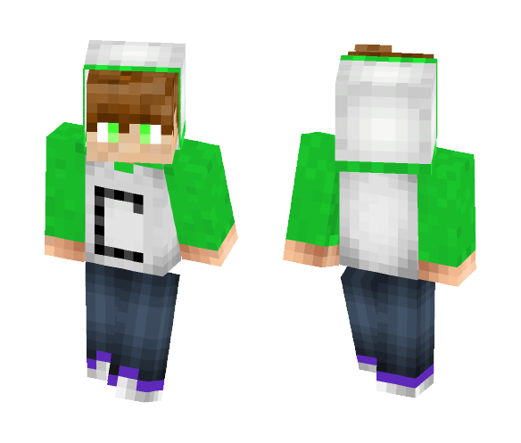 Maybe my YT - Male Minecraft Skins - image 1