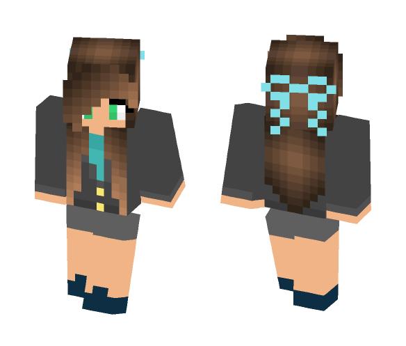School uniform 64×64 - Female Minecraft Skins - image 1