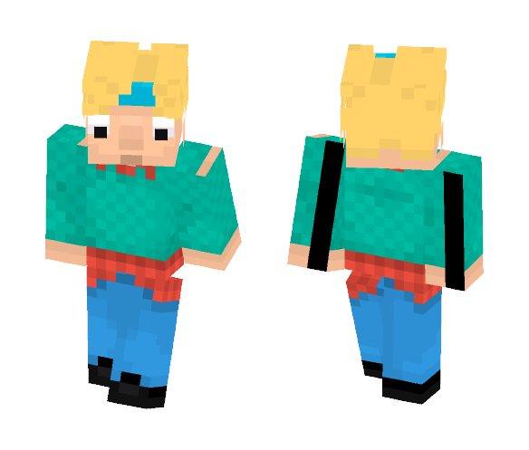 HEY ARNOLD!!! - Male Minecraft Skins - image 1