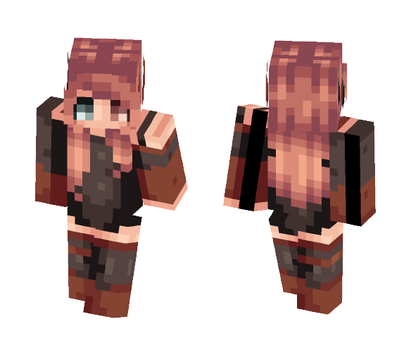 ~Chasing Demons / 300 subs!!~ - Female Minecraft Skins - image 1