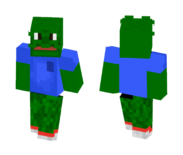 Download Pepe The Meme Frog Dank Memes Minecraft Skin For Free
