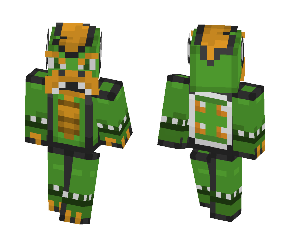 Super Mario World - Bowser - Male Minecraft Skins - image 1