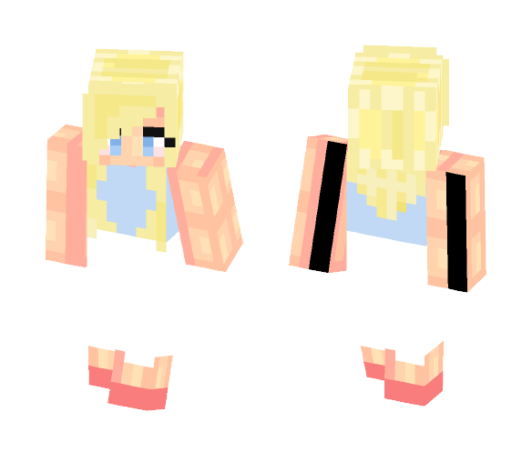 I'm getting OK at shading.. Right? - Female Minecraft Skins - image 1