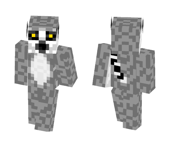 Ring-Tailed Lemur - Male Minecraft Skins - image 1