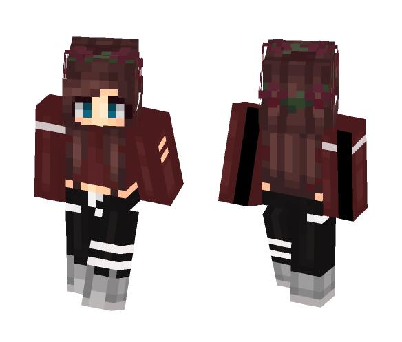 Ƒαʟʟeη✘Ʀαveη | me irl !!! - Female Minecraft Skins - image 1