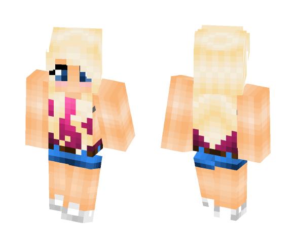 Summer Girl // very old creation - Girl Minecraft Skins - image 1