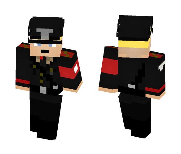 German Waffen SS Officer - Male Minecraft Skins - image 1