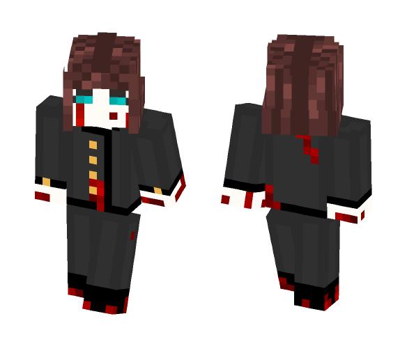 Sad Killer - Female Minecraft Skins - image 1