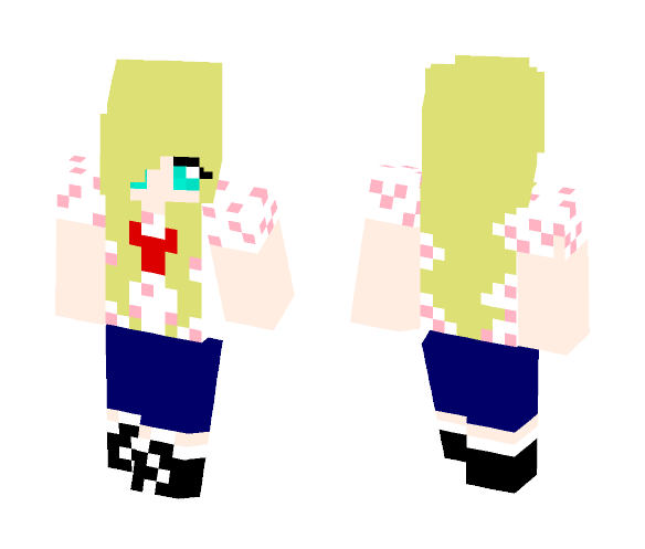 Best freaking friend - Female Minecraft Skins - image 1