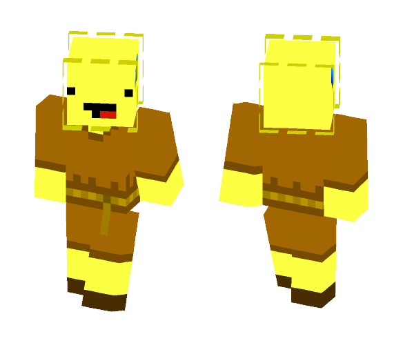 Download Male Pufferfish Villager Minecraft Skin For Free