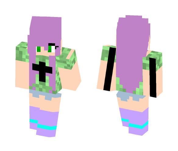 Maki Easy Porter Robinson - Female Minecraft Skins - image 1