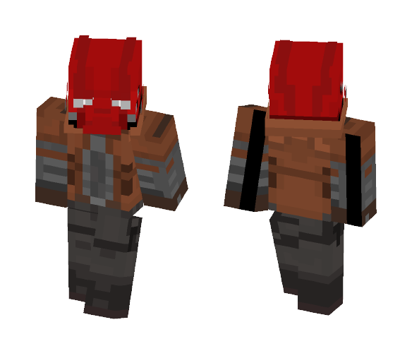 Red Hood (injustice 2) 2017 - Male Minecraft Skins - image 1