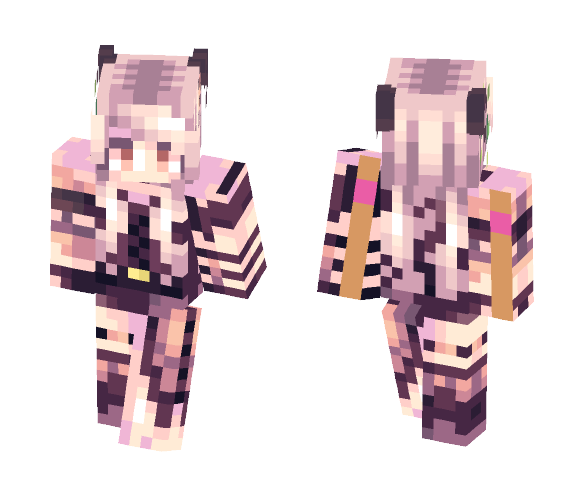 ST// I was busy thinking about boys - Female Minecraft Skins - image 1