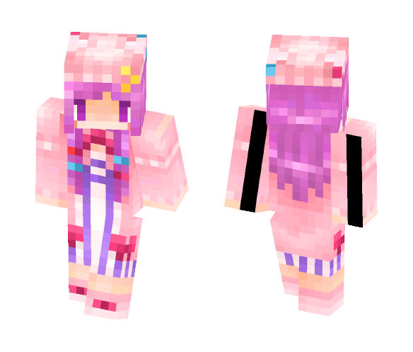 touhou project Patchouli Knowledge - Female Minecraft Skins - image 1