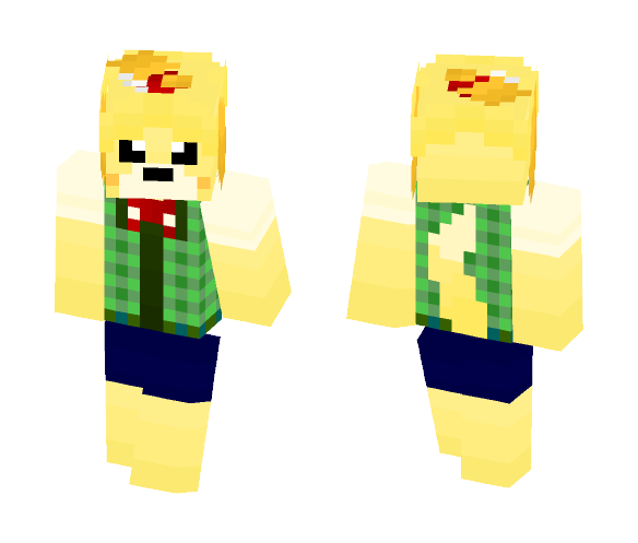 Download Animal Crossing Isabelle G Minecraft Skin For Free