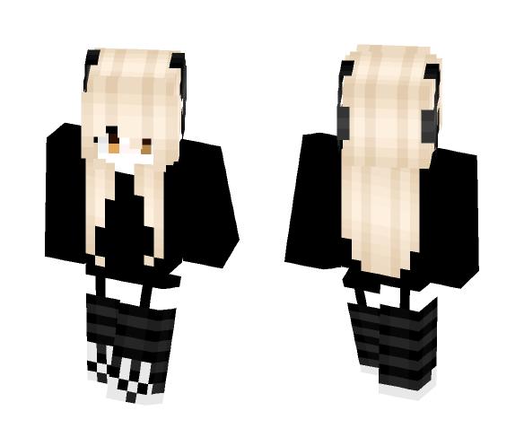 Cute emo girl - Cute Girls Minecraft Skins - image 1