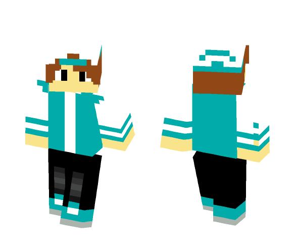 Download Cool Blue Boy Minecraft Skin For Free Superminecraftskins