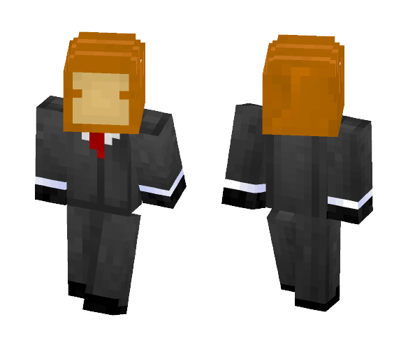 Loaf of Bread in a Tuxedo - Other Minecraft Skins - image 1