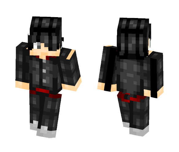 Araragi Koyomi - Monogatari - Male Minecraft Skins - image 1