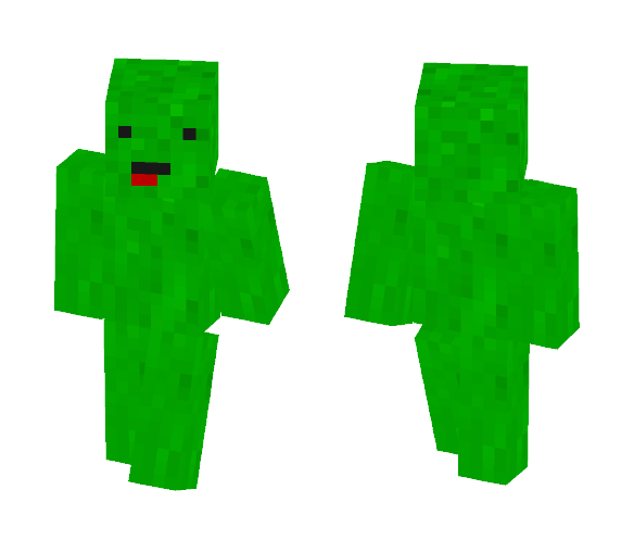 Pickle Man Of Awesomeness - Male Minecraft Skins - image 1