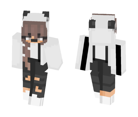 Download Cute Panda Minecraft Skin For Free