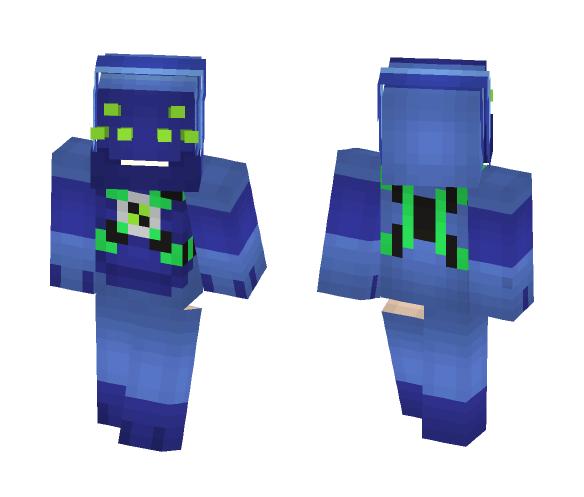 Download Spidermonkey - Ben 10 Alien Force Minecraft Skin for Free